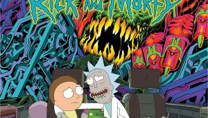 Rick and Morty Farewell Card the Rick and Morty soundtrack Box Set