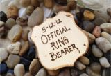Ring Bearer Thank You Card Wording Gift for Ring Bearer Police Style Badge Official Ring Bearer