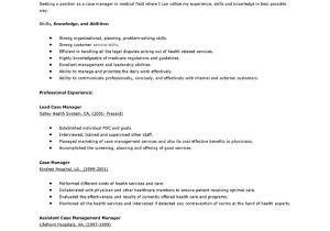 Rn Case Manager Resume Template Case Manager Resume Sample Jennywashere Com