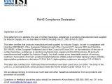 Rohs Compliance Certificate Template Certificate Of Compliance Template Template Business