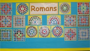 Roman Mosaic Templates for Kids Classdisplays Art