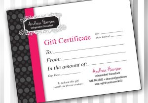 Romantic Gift Certificate Template 5 Best Images Of Vistaprint Create Your Own Logo Pure