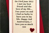 Romantic Things to Write In An Anniversary Card when We Met Personalised Anniversary Card with Images