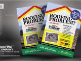 Roofing Flyer Templates Roofing Company Flyer Template Vol 03 by Kinzishots