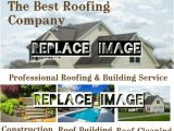 Roofing Flyer Templates Roofing Company Template Postermywall