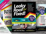 Roofing Flyer Templates Roofing Contractor Flyer Bundle Flyer Templates