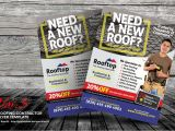 Roofing Flyer Templates Roofing Contractor Flyer Templates by Kinzi21 Graphicriver