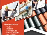 Roofing Flyer Templates Roofing Flyer by Monggokerso Graphicriver