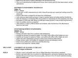 Rotating Equipment Engineer Resume Equipment Engineering Resume Samples Velvet Jobs