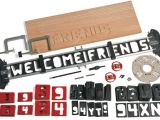 Router Alphabet Templates Router Letter Template Set Lee Valley tools