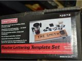 Router Lettering Template Sets Lot 471a Craftsman Router Lettering Template Set