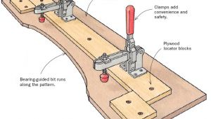 Router Pattern Templates Pattern Routing Jig Finewoodworking