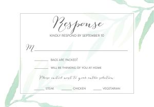 Rsvp Card Wording for Wedding Wedding Rsvp Wording Ideas