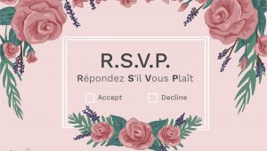 Rsvp Full form In Invitation Card What Does Rsvp Mean On An Invitation