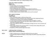 Rtl Design Engineer Resume Fpga Design Engineer Resume Samples Velvet Jobs