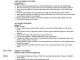 Rtl Design Engineer Resume soc Design Engineer Resume Samples Velvet Jobs