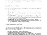 Rules for Cover Letters Cover Letter and Resume Rules