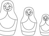 Russian Nesting Dolls Template 78 Best Images About Russian Dolls On Pinterest Applique