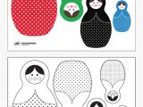 Russian Nesting Dolls Template Free Printable Russian Nesting Dolls Paging Supermom