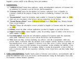 Saas Contract Template Saas Agreement Sample