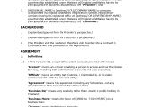 Saas Contract Template Saas Agreement Standard Docular