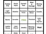 Safety Bingo Template Hand Safety Bingo Game