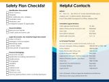 Safety Plan Suicidal Ideation Template Plan Safety Plan Template