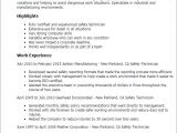 Safety Professional Resume 1 Safety Technician Resume Templates Try them now