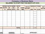 Salary Summary Template Salary Sheet Report Template Free Report Templates