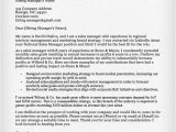 Sale Manager Cover Letter Sales Manager Cover Letter Sample Resume Companion