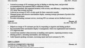 Sales associate Resume Sample Retail Sales associate Resume Sample Writing Guide Rg