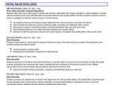 Sales associate Resume Template Retail Sales associate Resume
