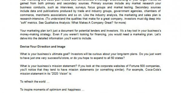 Sales Business Plan Template Free Sales Business Plan Template 10 Free Sample Example