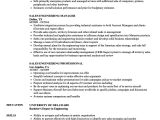 Sales Engineer Resume Sales Engineering Resume Samples Velvet Jobs
