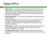 Sales Key Performance Indicators Template Key Performance Indicators You Should Know