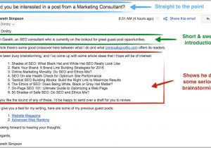 Sales Pitch Email Template Best Sales Pitch