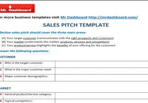 Sales Pitch Email Template Download Free Sales Pitch Template Samples and Examples