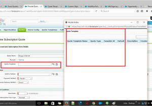 Salesforce Email Template Lookup Field Apex Unable to Retrieve Quote Templates and Products