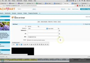 Salesforce Email Template Lookup Field Salesforce Email Template with Mail Merge Youtube