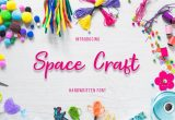 Samantha is Employed by Creative Card Company Space Craft In 2020 Space Crafts Cool Fonts Branding