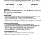 Sample Achievements In Resume for Experienced Skills and Accomplishments Resume Examples