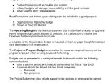 Sample Budget Narrative Template Grant Budget Templates 9 Free Pdf Documents Download