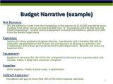 Sample Budget Narrative Template Narrative Budget Template Budget Template Free