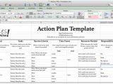 Sample Business Plan Template Excel Perfect Business Action Plan Template Example In Excel