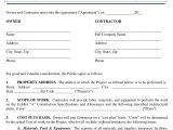 Sample Construction Contract Template 13 Construction Agreement Templates Word Pdf Pages