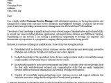 Sample Cover Letter for A Customer Service Position Sample Customer Service Cover Letter