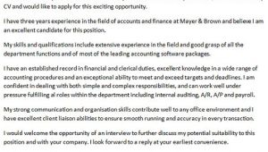 Sample Cover Letter for Accounts Payable Position Cover Letter for Accounts Payable Clerk Icover org Uk