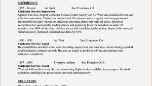 Sample Cover Letter for Airline Customer Service Agent Airline Customer Service Agent Cover Letter Resume