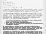 Sample Cover Letter for An Administrative assistant Position Administrative assistant Executive assistant Cover