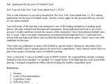 Sample Cover Letter for Basketball Coaching Position Football Coach Cover Letter Letter Of Recommendation